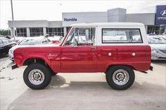 1969 Ford Bronco Houston