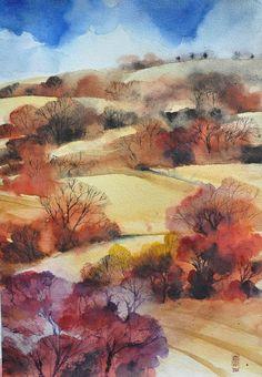 La gran madre terra http://www.andreuccettiart.it/ https://www.artfinder.com/andreuccettiart