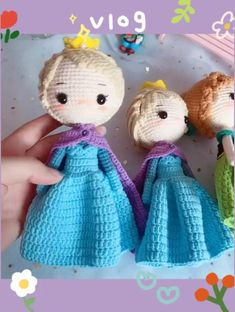Diy Crochet Doll, Crochet Doll Tutorial, Crochet Fairy, Crochet Cat Pattern, Diy Crochet And Knitting, Bead Crochet Patterns, Diy Doll, Cute Crochet, Handmade Dolls Patterns