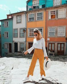 Fall pants 2019 fashion trends - outfit ideas for 2019 in 2019 летняя одежд Casual Outfits, Fashion Outfits, Womens Fashion, Fashion Trends, Fashion Fashion, Feminine Fashion, Girly Outfits, Fashion Editor, Dance Outfits