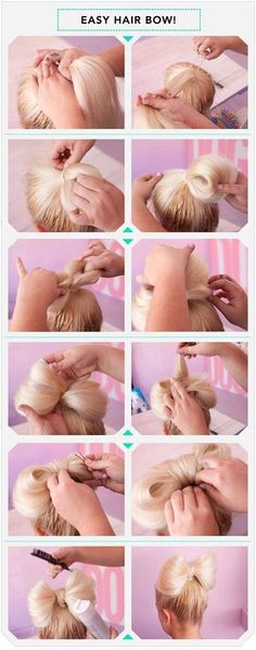 #easy#hair#bow