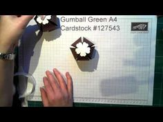 ▶ Stampin' Up! Christmas Pudding Ornament Using The Gift Bow Bigz Die from Stampin' Up! - YouTube