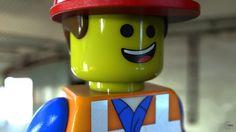 LEGO Macro shot - Emmet. Modeled in NX, rendered in KeyShot. Macro Shots, 3d Visualization, Planter Pots, Lego, Legos