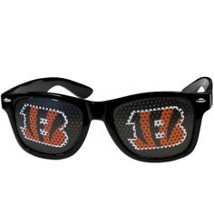 ebc8465f40f3 Cincinnati Bengals Black Tailgate Sunglasses for Game Day from Team Sports.  Click now to shop NFL Accessories for Men and Women.