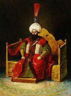 4. Mustafa 1807 - 1808. Schilderij door Theodore Gericault