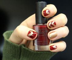 Holiday nails from Glamourpage