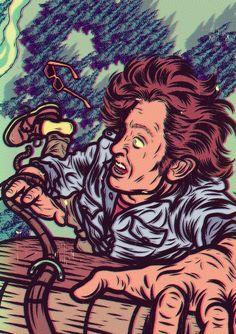 Deadly Mind Traps (Reader's Digest, US) by Diego Patiño, via Behance