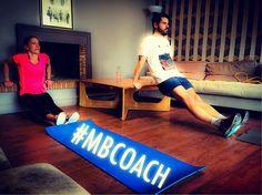 MB COACH — Ce matin lors de la séance avec l'équipe du...