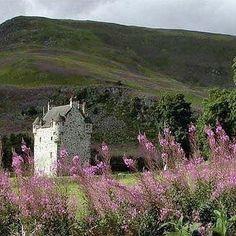 Forter Castle, Scotland, built in 1560