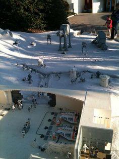 Lego Star Wars Hoth ice planet... Legoland CA...