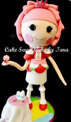 Lalaloopsy Sculpted Cake