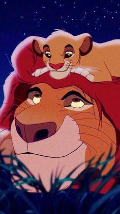 Mufasa and simba Happy Fathers Day