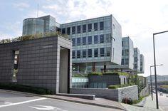 Student Union seen from the Main Gate, KookMin University 정문쪽에서 본 학생회관, 국민대