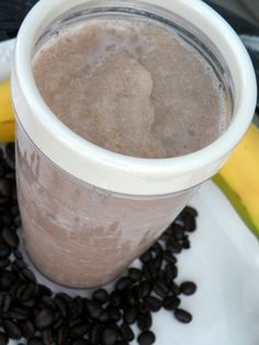 Wake Me Up Coffee Banana Smoothie