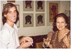 Caio Fernando Abreu e Lygia Fagundes Telles nos anos 1970