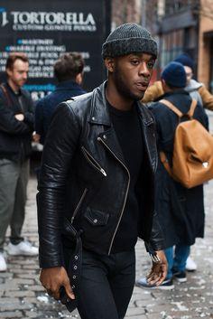 Leather Jacket Style Inspiration #StyleMadeEasy