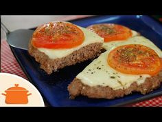 Pizza de Carne Moída com Vídeo | Panelaterapia