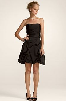 Bridesmaid dress...comes in brown (truffle)