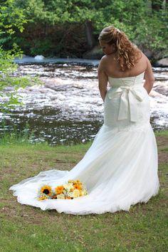 Karissa & Zack, Married! Goodman Park, Athlestan WI. Photo by Meghan Straveler. #wedding #photography #park