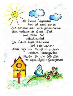 Abschied Kindergarten - wunderschönes Freebie zum kostenlosen Ausdrucken im Blog www.kreativ-zauber.de