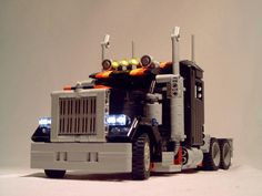 Remote Control LEGO American Truck Long Nose