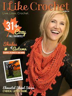 I Like Crochet, October 2015 is here!
