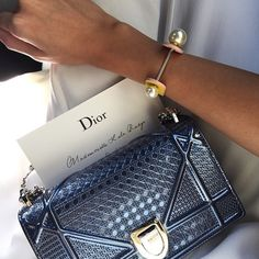 Have you seen the amazing new Dior bag, The Diorama!    Repost: @lalatrussardirudge