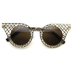 MISS SPLINTER Cat Eye Sunglasses at FLYJANE