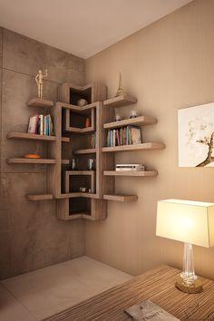 corner shelf by Novo Quadratum