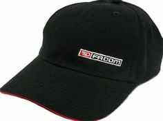 Facom Baseball Cap Facom baseball cap with adjustable strap for optimal fit. Black cotton construction with embroidered Facom logo and red trim on peak.Specifications:bull