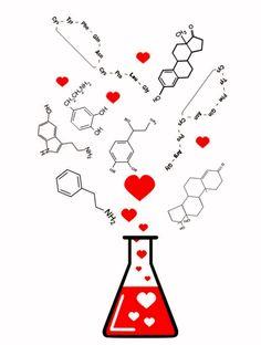 A Química do amor Você já ouviu esta frase: Rolou uma química entre nós ! Será que existe mesmo uma explicação científica para o amor?...