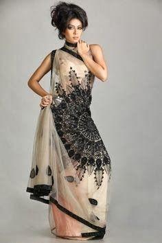 Adorable Pakistani sari fashion | Fashion World