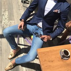 38 Everyday Outfits For School - Global Outfit Experts Blazer Outfits, Casual Outfits, Stylish Men, Men Casual, Terno Slim, Mode Man, Suit Fashion, Fashion Sale, Fashion Outlet
