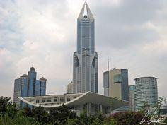 Chine, Shanghai - Quartier tout près de People's square