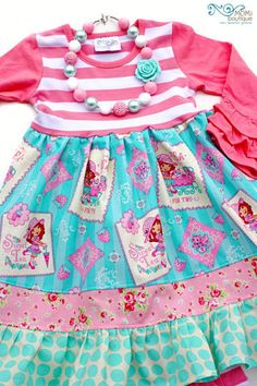 Tea for Two dress by Pink MOMI