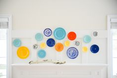 Hanging plates on a wall is a time honored method of decorating. Some people consider them grandma-ish but it's obvious by these photos, it's anything but that! Check out Apartment Therapy's post.The most common place people think of adding a plate wall is of course in a kitchen or dining room.