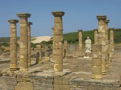 Roman temple, Zahara de los Atunes, Spain