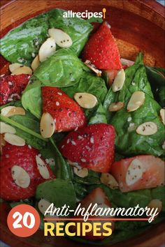 """20 Anti-Inflammatory Recipes 