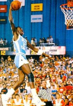 Dean Smith saw the potential of Michael Jordan early and decided to give him the playing time and experience he needed to develop into the great player that he eventually became. Michael became a starter during his freshman year.