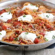 Skillet Lasagna by Tracey's Culinary Adventures, via Flickr