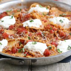 Skillet Lasagna by Tracey's Culinary Adventures, via Flickr