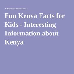 facts about kenyan culture and dating