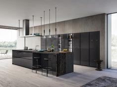 Dapur modern oleh atelier casa s. Kitchen Furniture, Kitchen Interior, Kitchen Decor, Luxury Kitchen Design, Best Kitchen Designs, Küchen Design, House Design, Design Ideas, Modern Home Bar