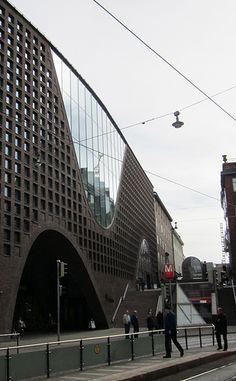 front of Helsinki Uni Library