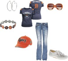 """""""Detroit Tigers"""" by beckivm on Polyvore"""