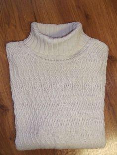 Ann Taylor Loft Turtle Neck Knit Sweater Women's XL Lt. Beige $19.50 free ship #eBay
