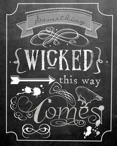 halloween chalkboard printables - Google Search