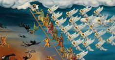 Αυτά είναι τα 23 Τελώνια είναι 23 έλεγχοι που υφίσταται η ψυχή του ανθρώπου μετά το θάνατό του για συγκεκριμένα αμαρτήματα – διαφορετικό