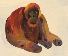The Orangutan Art Print