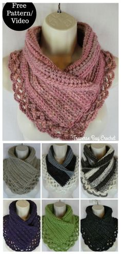 Crochet accessories 18014467247509162 - Crochet Lace Neck Warmer Free Crochet Patterns Source by karenboyd Crochet Crafts, Easy Crochet, Crochet Projects, Free Crochet, Crochet Scarves, Crochet Shawl, Knit Crochet, Crochet Patterns For Scarves, Crochet Collar Pattern